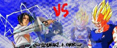 Sasuke VS Vegeta