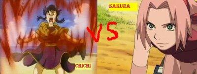 Chichi vs Sakura