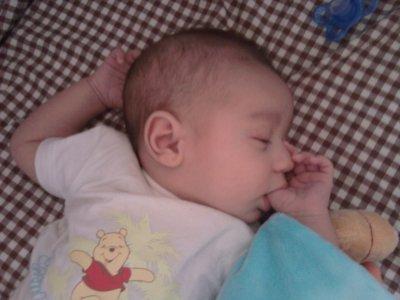Mon bébé, mon amour, mon coeur, mon ti n'ange ...