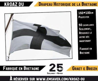 Réservez gratuitement votre kroaz du fabriqué en Bretagne.