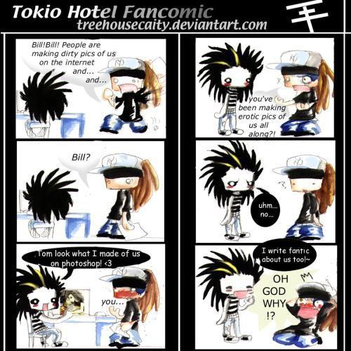 Comics are... comic :)