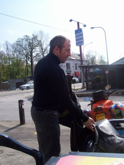 968 balade moto chez les AMC Floreffe le 17/04/2011
