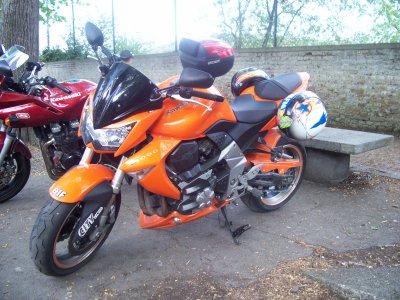 970 balade moto chez les AMC Floreffe le 17/04/2011