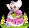 cadeau pour mon éléphanou rose !!!