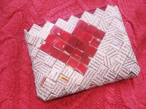 "Porte-monnaie : ""saint-valentin"", ""amour"" .."