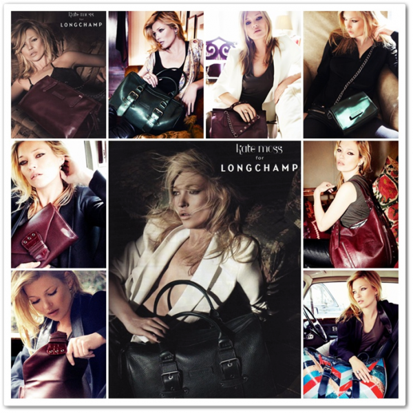Campagne Kate Moss For Longchamp Automne 2010