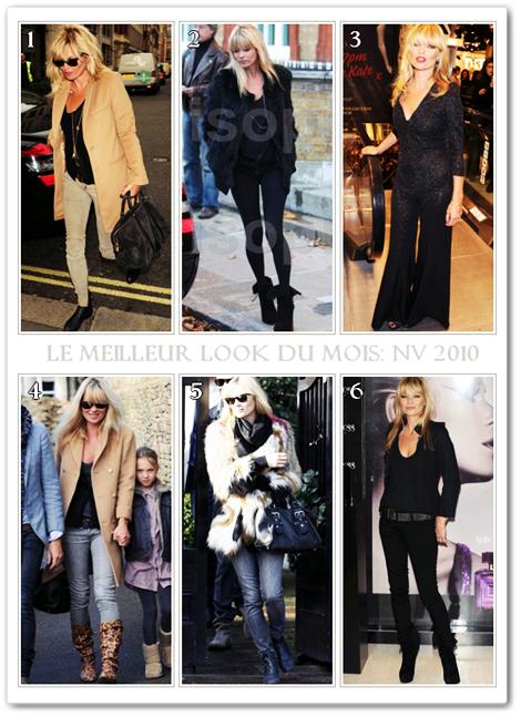 Le Meilleur Look Du Mois : Novembre 2010