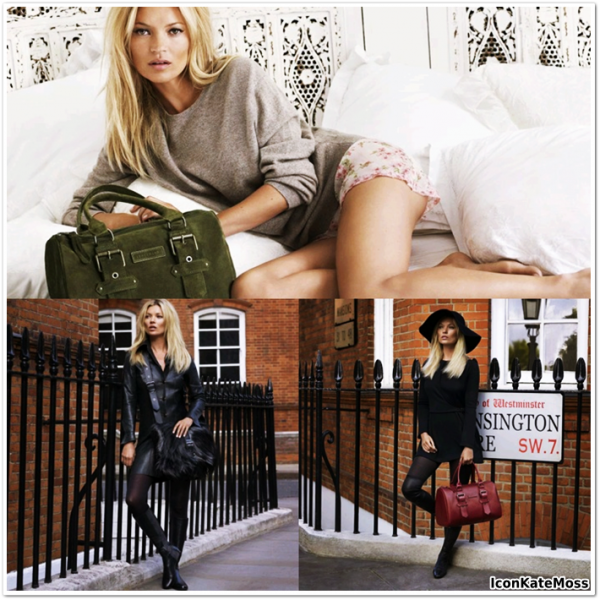 Kate Moss for Longchamp Automne/Hiver 2012
