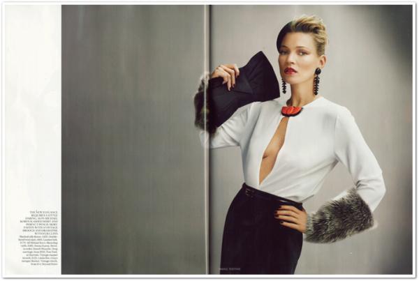Vogue UK Août 2011