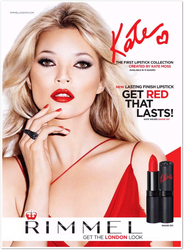 Campagne Kate Moss for Rimmel