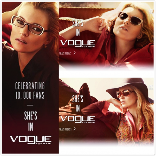 Campagne Vogue EyeWear F/W 2011/2012