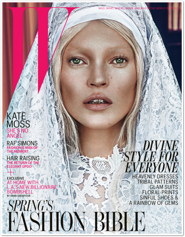 W Magazine Mars 2012