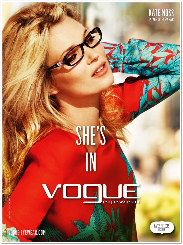 Campagne Vogue EyeWear S/S 2012