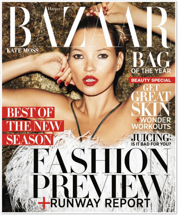 Harper's Bazaar US June 2012