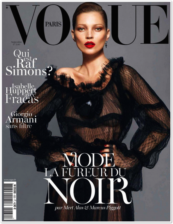 Vogue Paris Septembre 2012
