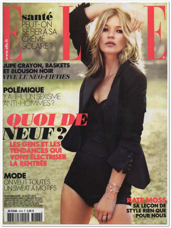 Elle France Août 2012