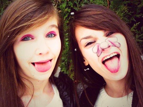 Nulle amie ne vaut une soeur  ♥