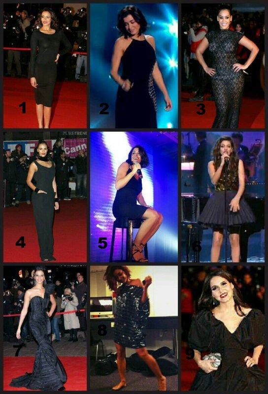 La petite robe noire ... laquelle choisissez-vous ?