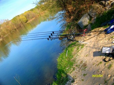 Matériel de pêche.