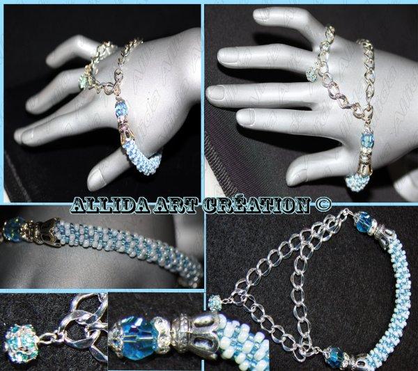 Bracelet eaux turquoise