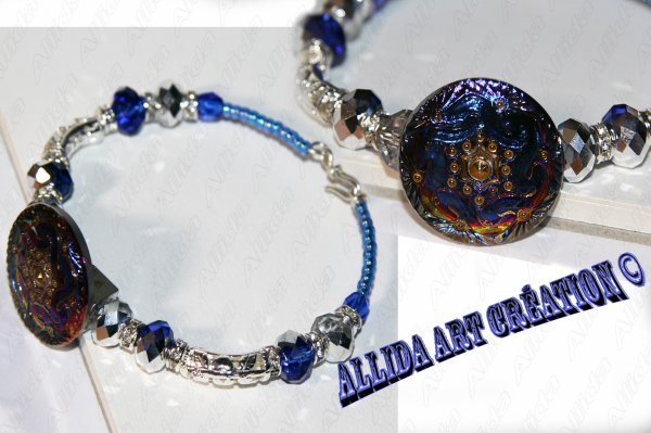 Bracelet Bleuet