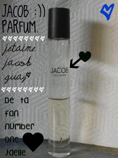 Mon parfuum de Jacob,, ♥