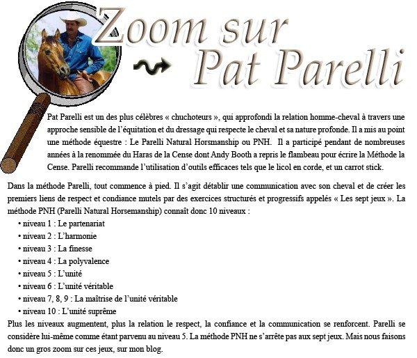 Les 7 jeux Parelli ~