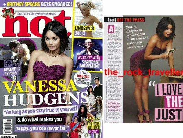 "Vanessa le 3 & 4 Janvier + Journey 2 + Vanessa pose pour "" Hot "" + Photo perso + PCA"