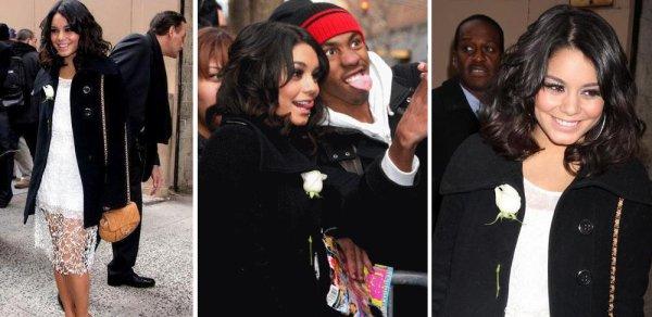 Vanessa le 8 & 9 Février à New York + Photos persos