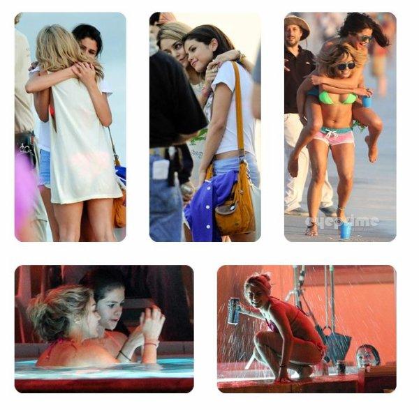 Vanessa le 27 & 28 Mars + Photos persos + Ambiance tendue sur le tournage de SB ?