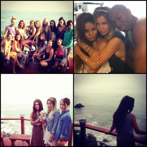 L'anniversaire de Ashley T. + Vanessa le 3 Juillet + Spring Breakers
