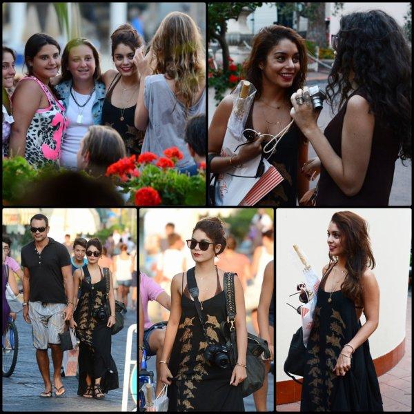 Vanessa le 18 Juillet en Italie