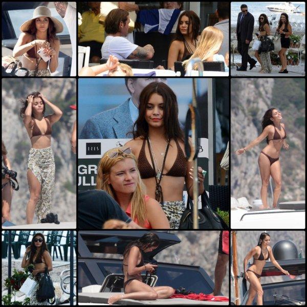 Vanessa le 19, 20  & 21 Juillet en Italie