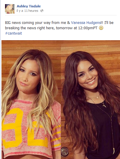 Vanessa le 2 Aout + Vashley