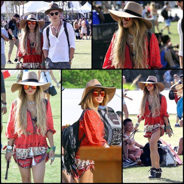Vanessa a festival Coachella