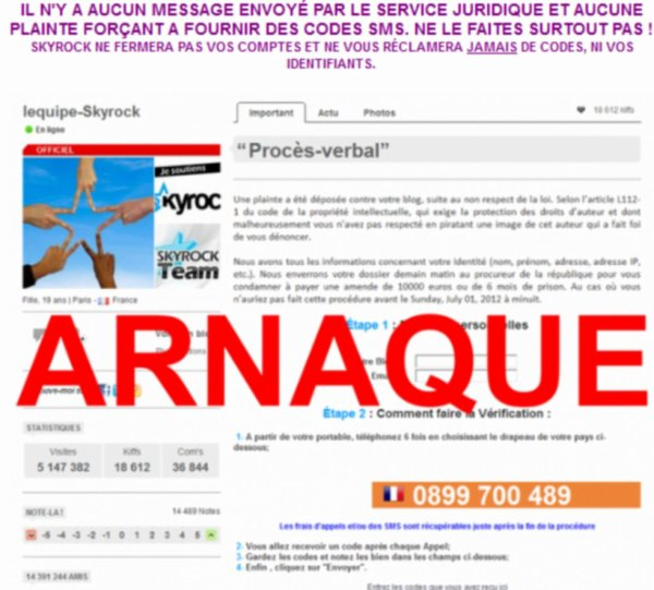 Arnaque via Youtube