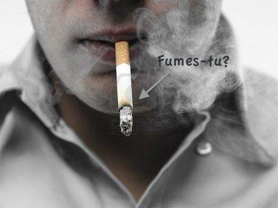 La cigarette..?