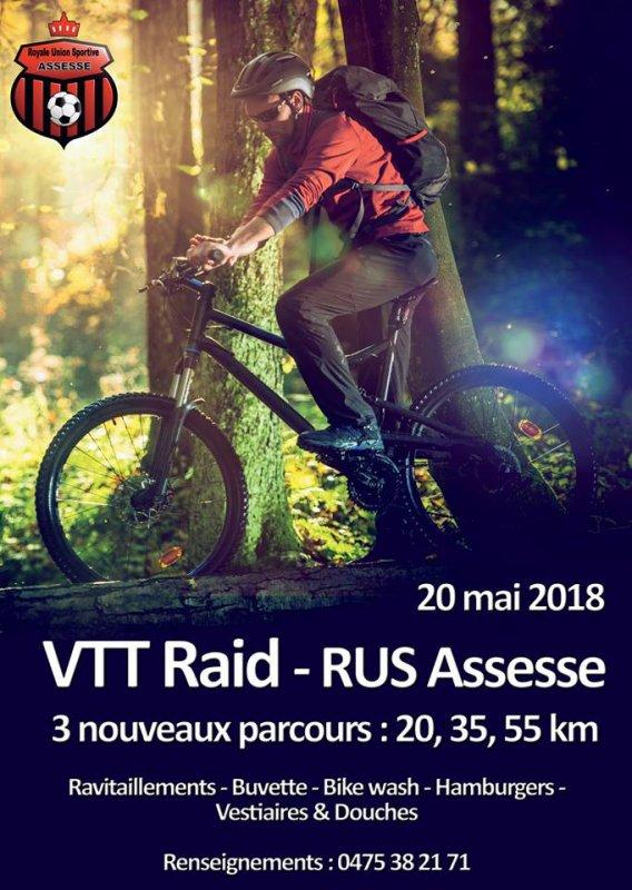 RUS Assesse 5e article : divers (VTT - P2 - journée découverte - inscription tournoi ..)
