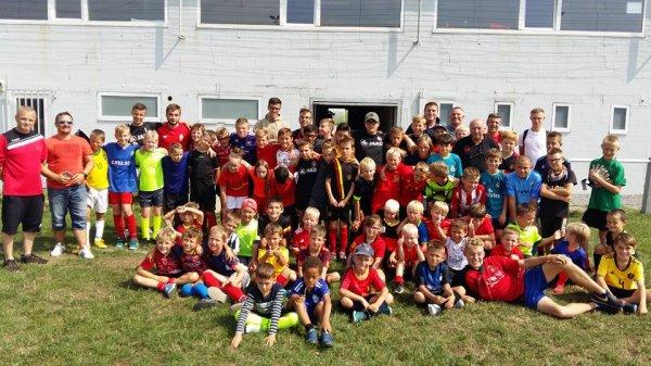 46e article RUS Assesse : la semaine de stage vu par Fabian responsable de l'école des jeunes