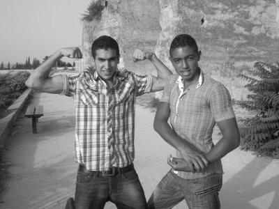 me & mouad