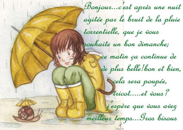 """Résultat de recherche d'images pour """"bon dimanche sous la pluie"""""""
