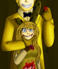 Springtrap x Golden Freddy......