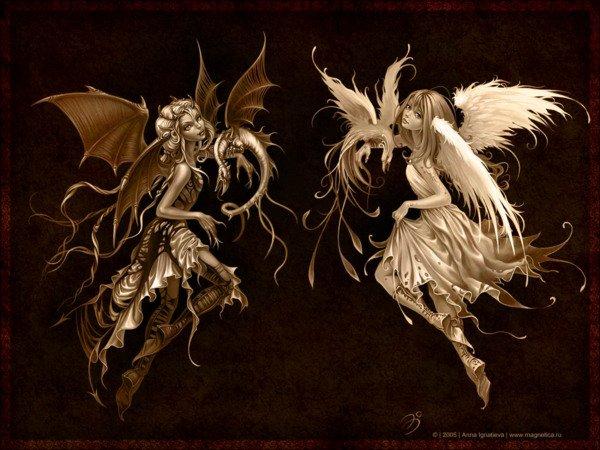 Gif - Ange - Démon