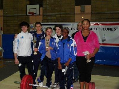 Trophée National des comités régionaux cadets 2010 // 18décembre 2010.