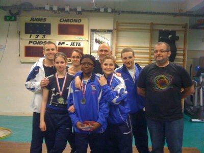 Championnat d'île de France Seniors // Rueil // 26 Mars 2011