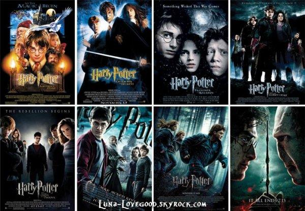 ϟ  QUESTIONNAIRE : Quel est ton film HARRY POTTER préféré? ϟ