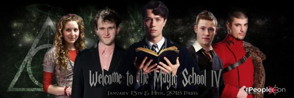 ϟ Convention Welcome To The Magic School 4 en 2018 ϟ