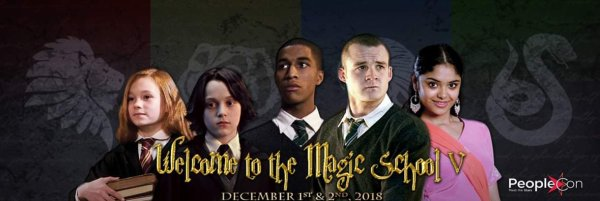 ϟ La convention Welcome to the Magic School 5 - 1 et 2 Décembre 2018 ϟ