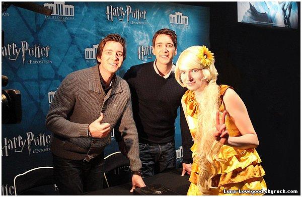 ϟ Avant-Première de Harry Potter l'exposition (Reportage sur TF1 le vendredi 3 avril 2015) ϟ