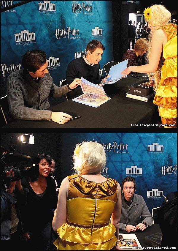 Article 11 - ϟ Avant-Première de Harry Potter l'exposition (Reportage sur TF1 le vendredi 3 avril 2015) ϟ
